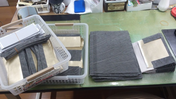 象革財布の製造過程